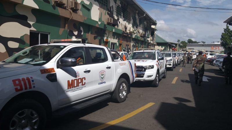 Cuatro mil 550 hombres del MOPC estarán desplazados en todo el territorio nacional para trabajar por la prevención durante la semana mayor.