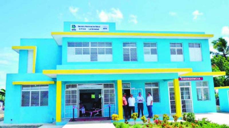 La Vicepresidencia de la República, a través del Gabinete de Coordinación de Políticas Sociales (GCPS), inauguró ayer en Cotuí dos Centros de Primer Nivel de Atención en Salud (CPN),