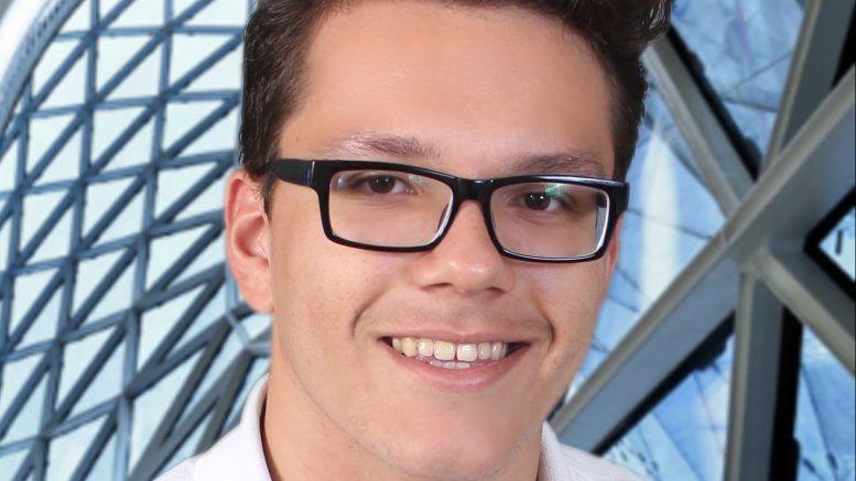Este es Franco Almonte ganador de la Olimpíada Nacional de Física y la Olimpíada Nacional de Matemáticas