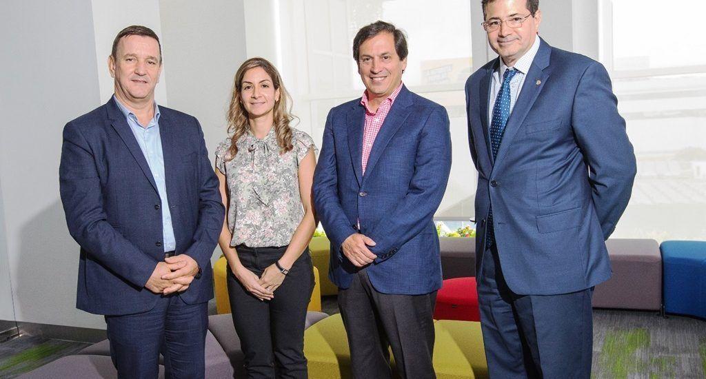 Gilles Damais, Vielka Pimentel, Daniel Gutiérrez y Steven Puig