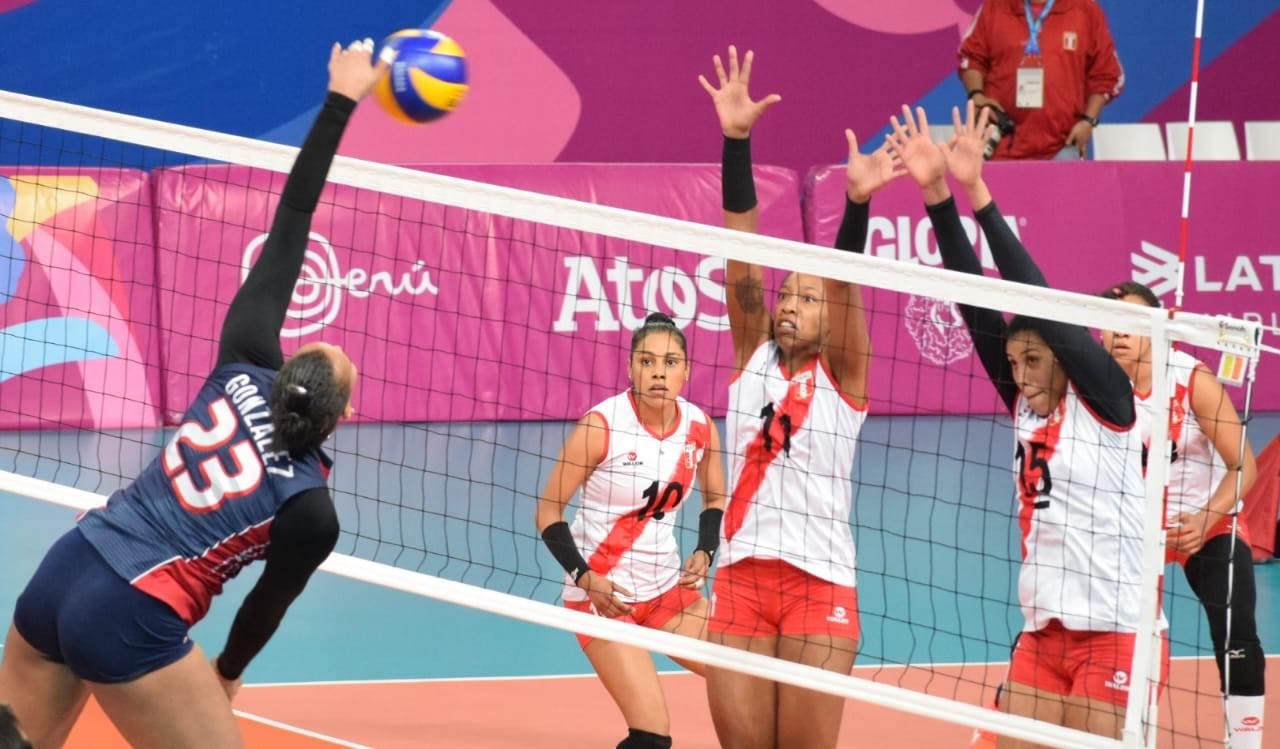 Las Reinas del Caribe vencieron 3-0 al equipo Perú en los Juegos Panamericanos