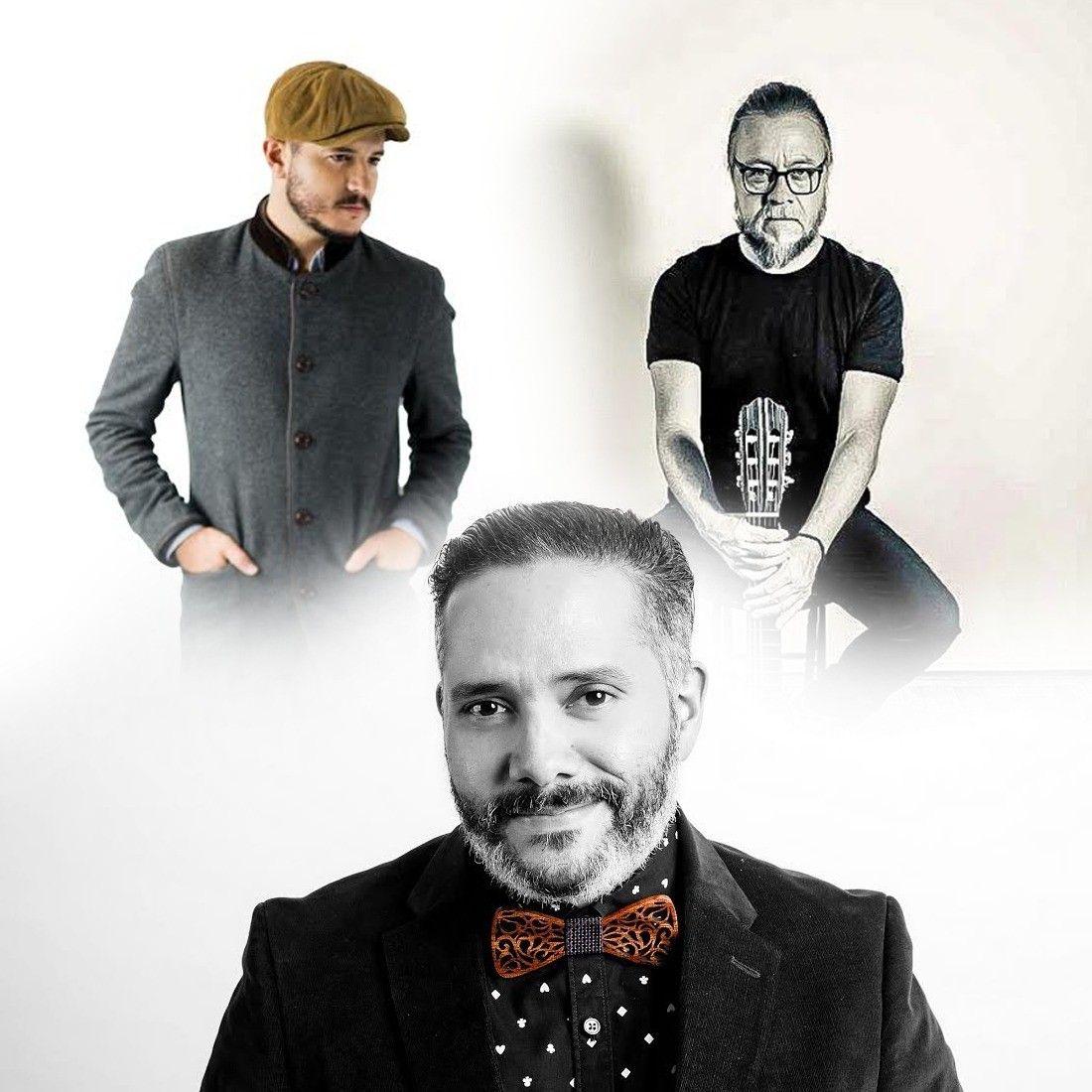 Pavel Núñez, Fernando Osorio y Miguel Inzunza, cantan en Lucía 203