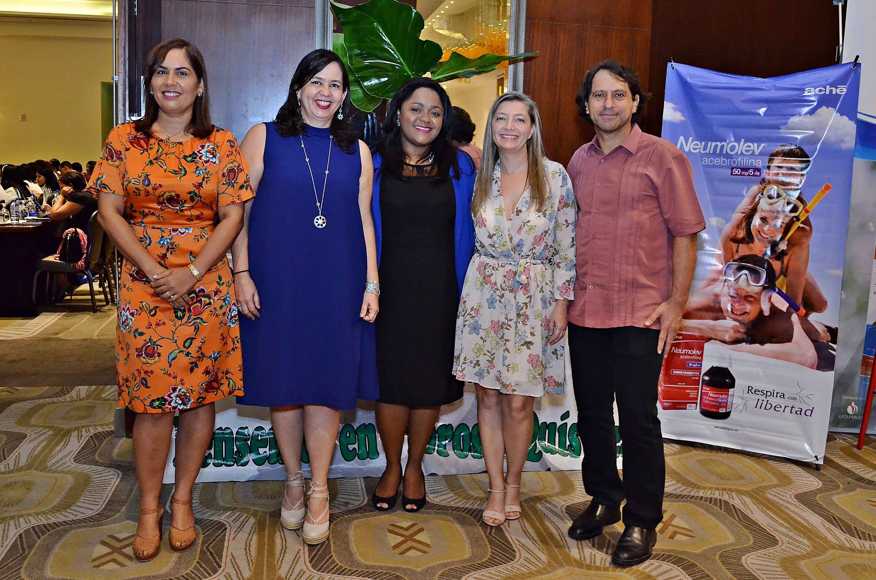 Alexandra Tabar, Leandra Cordero Oñate, Ana Uribe, Amy Hoepker y Jose Pablo Gutiérrez.