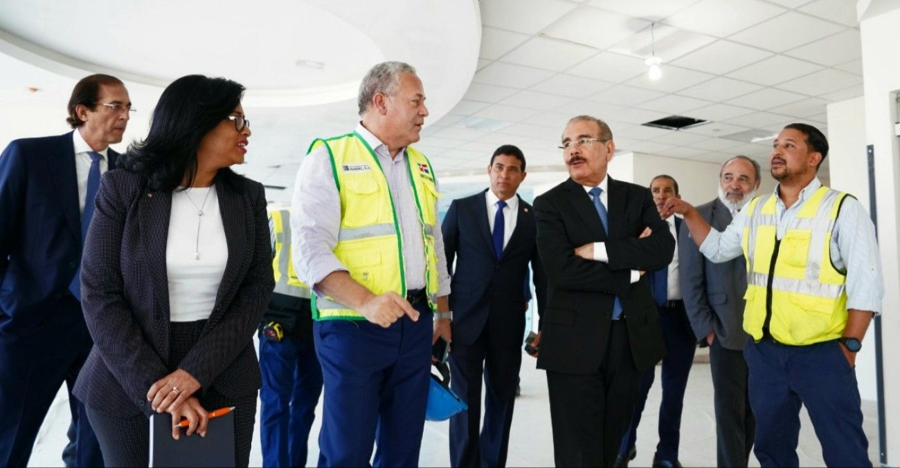 Presidente Danilo Medina constata avances construcción Ciudad Sanitaria Luis Eduardo Aybar, la más grande y moderna de Centroamérica