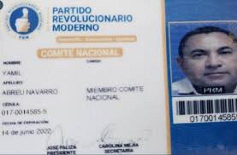 Abinader: Gobierno le dio papel de buena conducta a Yamil Abreu, pedido en extradición por drogas