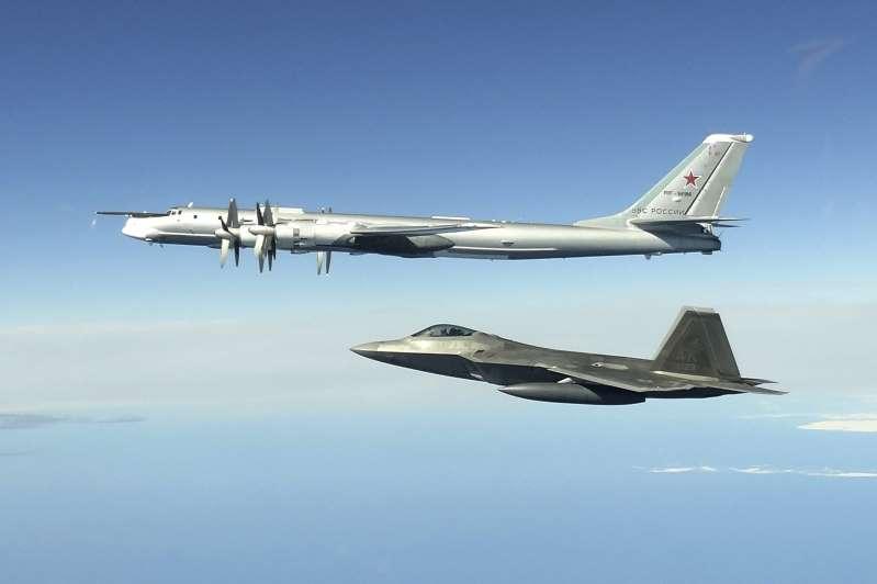Bombarderos nucleares rusos vuelan cerca de Alaska