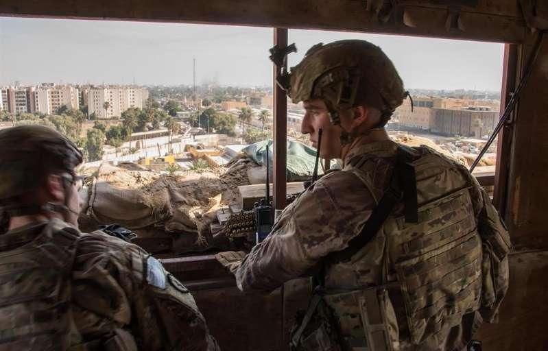 Cuatro cohetes impactan en la Zona Verde de Bagdad