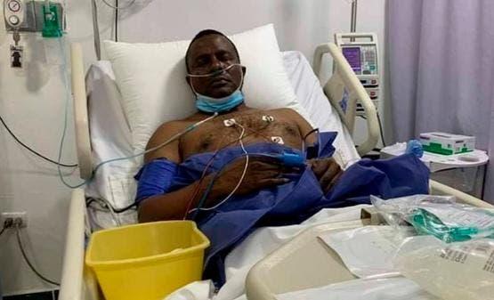 Sin respirador, pero aun con fiebre alta continúa Félix Victorino