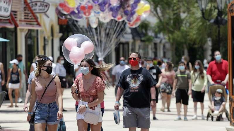 Florida supera los 100,000 contagios de coronavirus en una primera ola que se niega a terminar