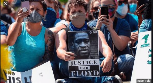 Floyd trabajaba y vivía en la casa de una dominicana en Minesota