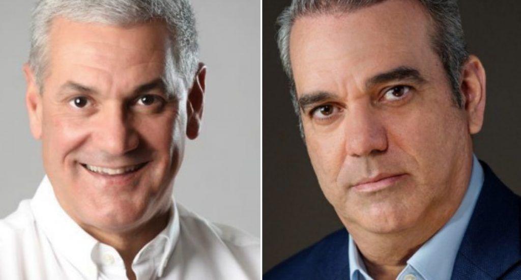 Gonzalo Castillo tiene 42.9% y Luis Abinader 39.2%, según Polimetrics