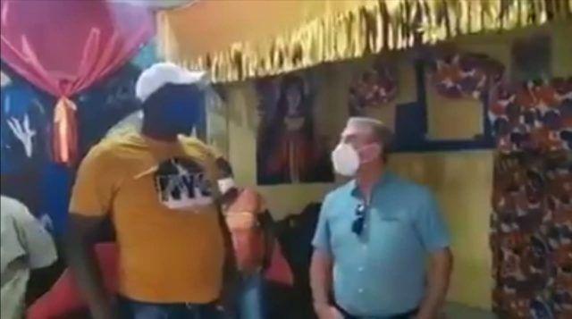Gonzalo visita brujo San Luis, quien le manifestó apoyo a su candidatura