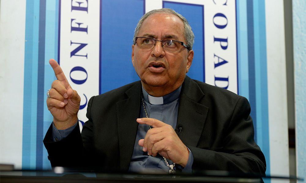 Monseñor Benito Ángeles nuevo rector de la Universidad Católica SD. Fuente externa.
