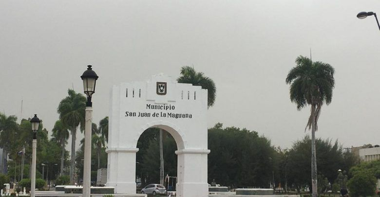Polvo del Sahara cubre todo el municipio de San Juan de la Maguana