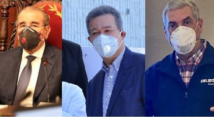 Presidente Medina, Leonel y Gonzalo Castillo se solidarizan con Abinader