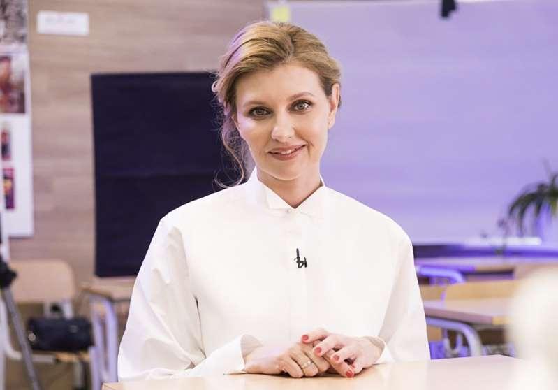 Primera dama de Ucrania hospitalizada con coronavirus