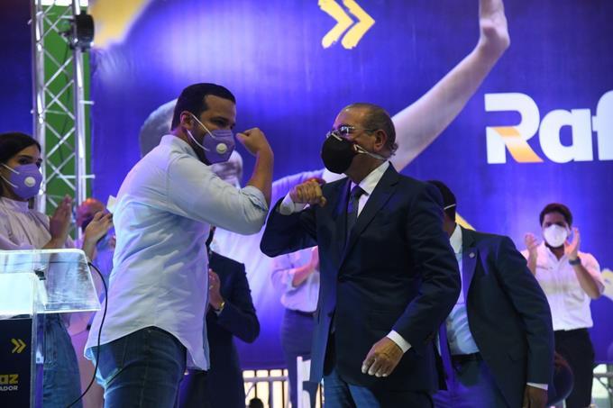 El mandatario habló durante un acto de apoyo a los candidatos del Partido de la Liberación Dominicana en el Club San Carlos de la capital, donde aseguró que Rfael Paz ganará en el Distrito Nacional.