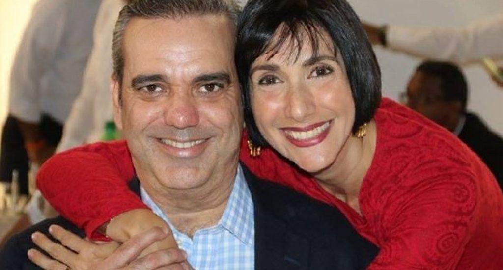 Luis Abinader y esposa Raquel Arbaje dan positivos a coronavirus