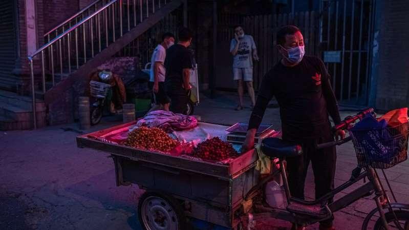 Pekín registra 7 casos de transmisión local de los 12 nuevos contagios de covid-19 en China