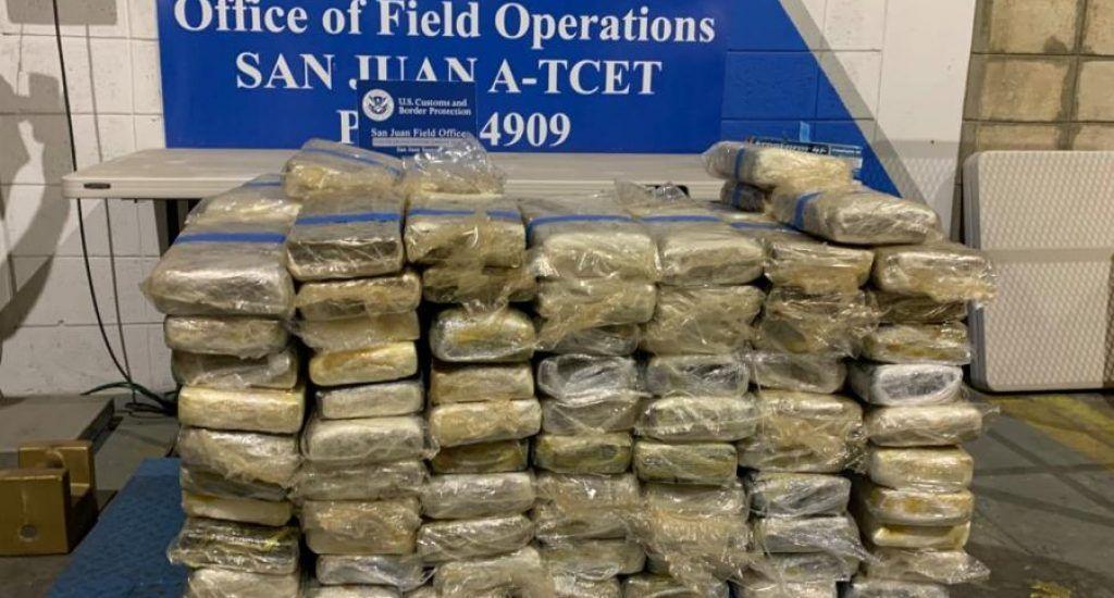 El análisis al cargamento encontrado dio positivo a las propiedades de la cocaína. Fuente externa