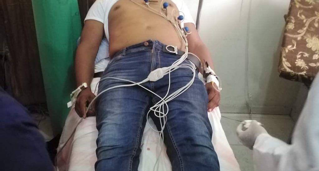 Pedro Botello es ingresado en centro médico tras ser afectado por bombas en protesta por 30% AFP. Fuente externa.