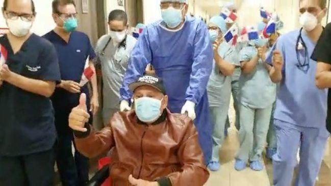 A sus 69 años, Roberto 'Manos de Piedra' Durán derrota al coronavirus