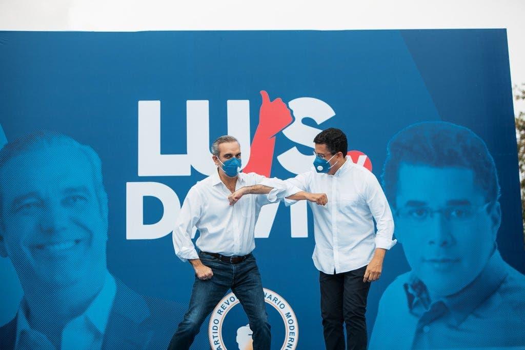 Abinader y Collado cierran la campaña del PRM en la capital