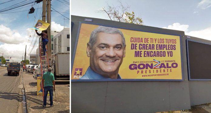 Gonzalo Castillo ordena retirar todo su material publicitario de las calles
