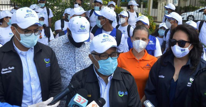 Salud Pública se traslada a Santiago por colapso en areas del COVID-19