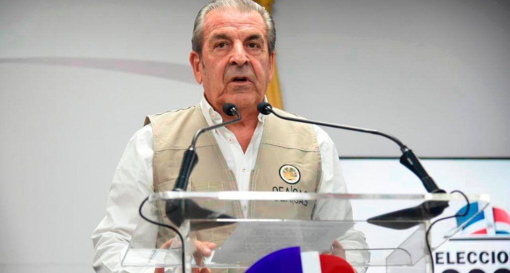"""OEA señala fallos en el proceso electoral dominicano; critica a JCE por su """"falta de acción"""" ante delitos"""