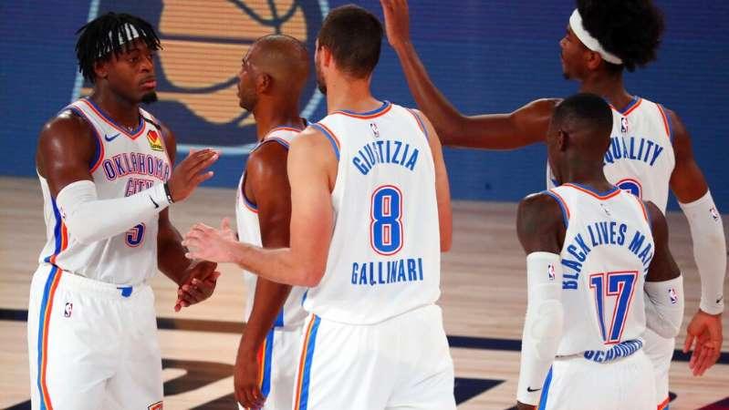 NBA: Thunder venció a Rockets e igualó la serie a dos