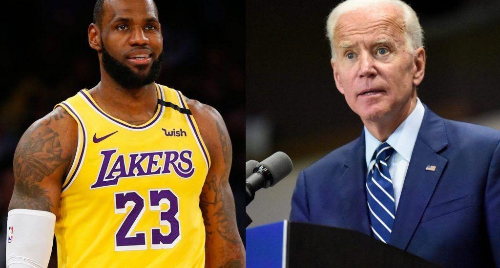 """LeBron James se une a campaña de Biden y dice """"necesitamos un cambio"""""""