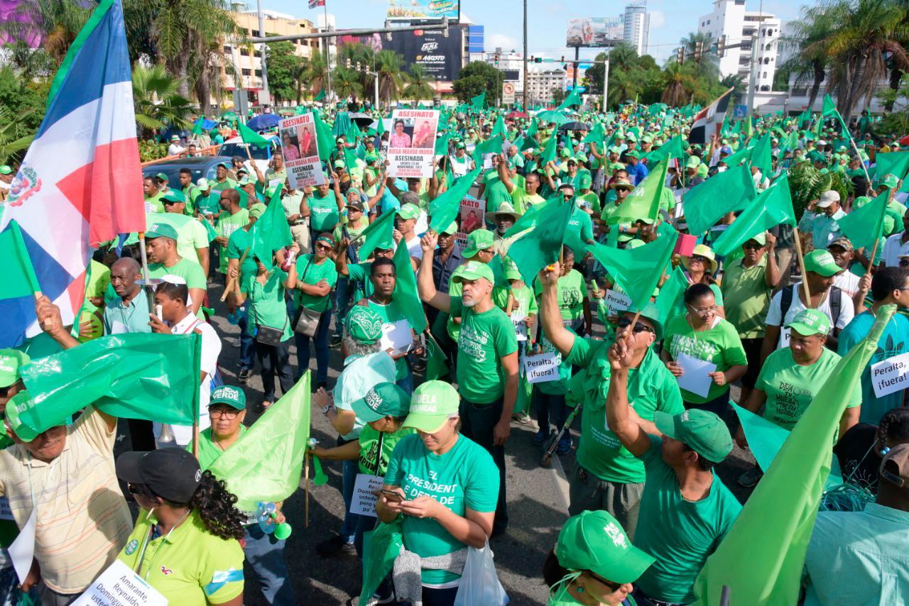 Marcha Verde no ha convocado manifestación