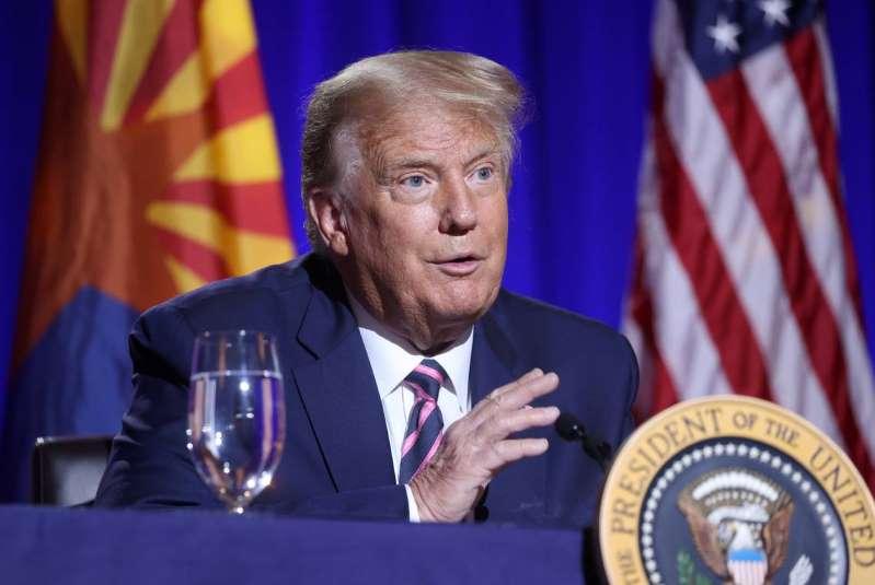 Donald Trump en Arizona:
