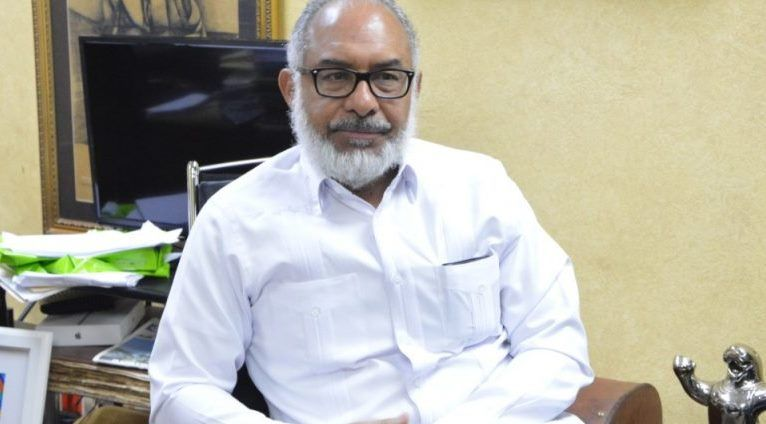 El presidente de la Sociedad Dominicana de Diarios, Persio Maldonado.