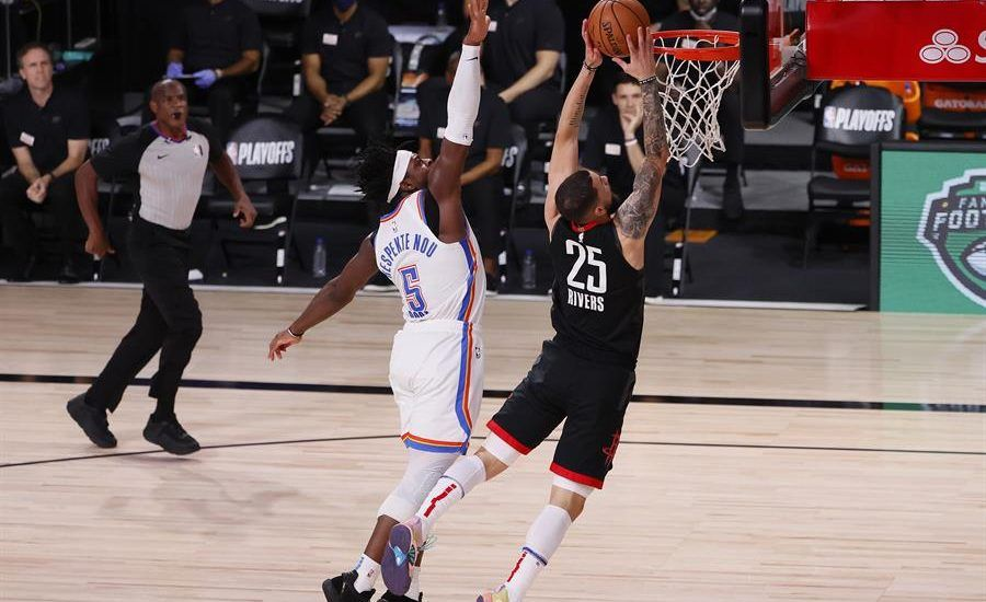 Rockets se imponen y eliminan al Thunder de Chris Paul en los playoffs de la NBA