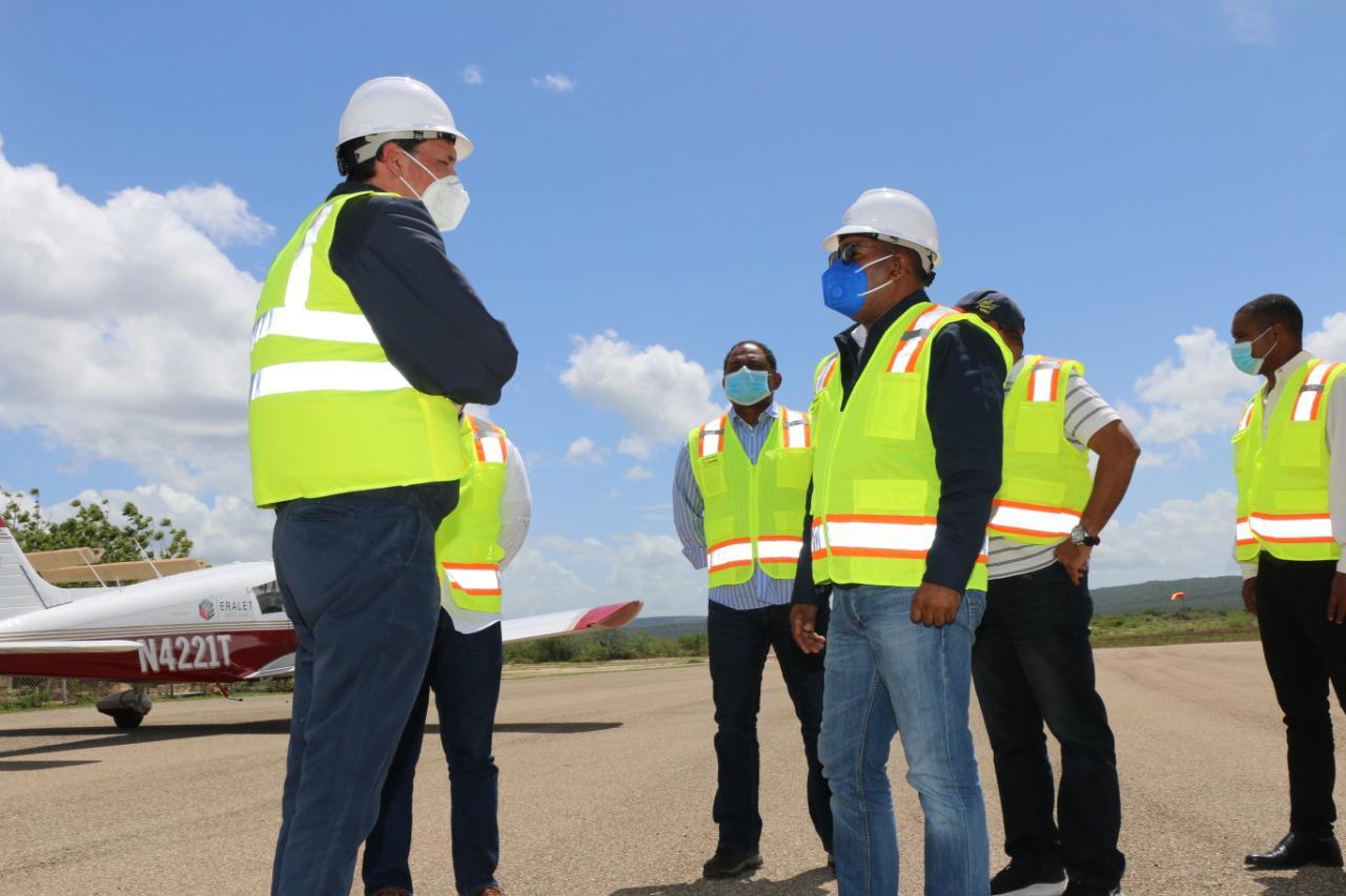 Departamento Aeroportuario remozará aeródromo de Pedernales