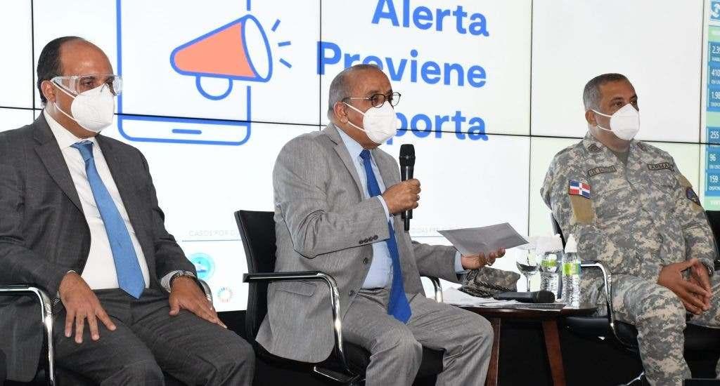 El ministro Plutarco Arias se expresó en esos términos durante una rueda de prensa de presentación de los avances para enfrentar la emergencia por COVID-19