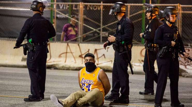 NBA: Celebración desbordada en Los Angeles por los Lakers