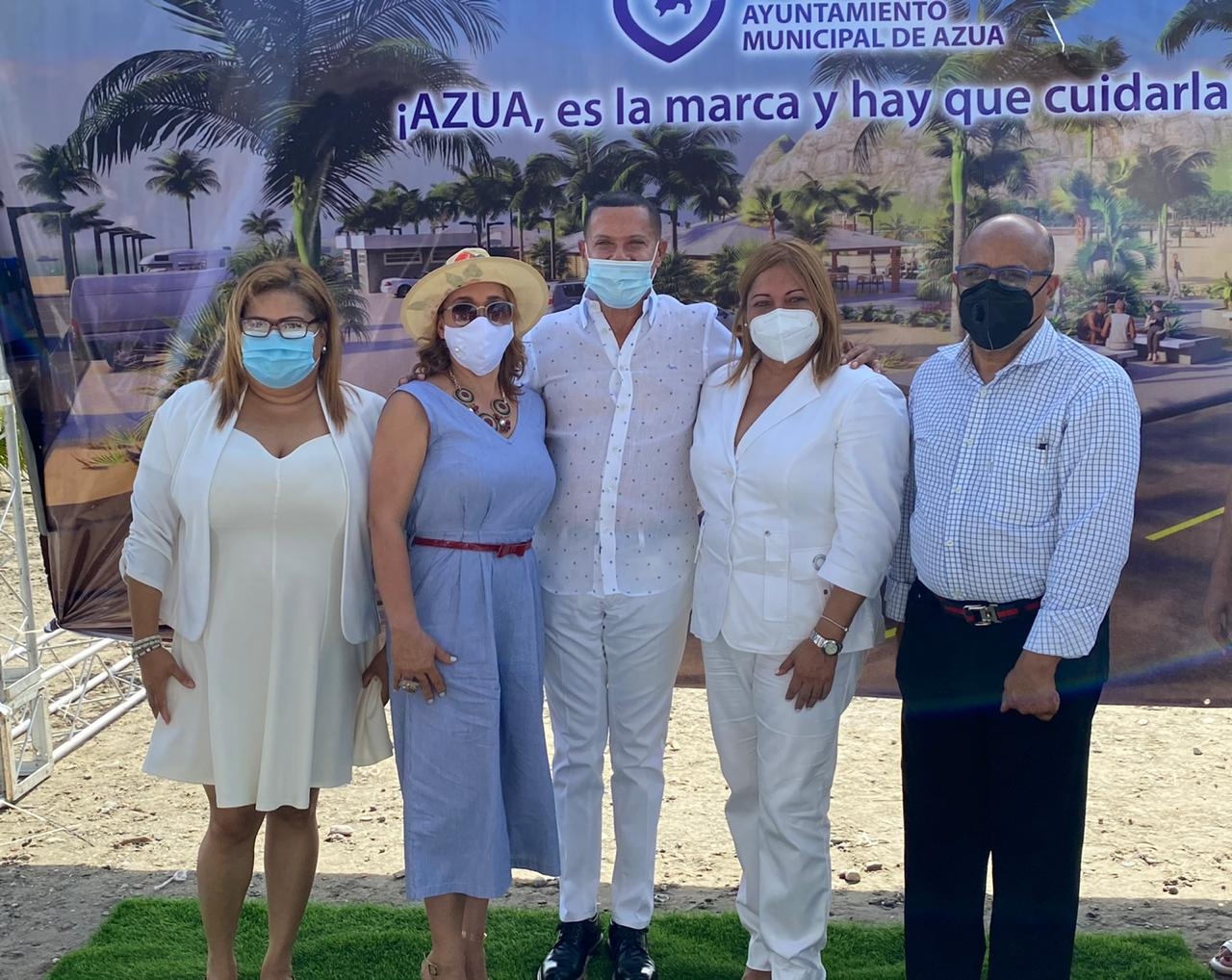 Angela Pérez, Mayra Pujols, Ruddy González, Maribel Hernández Y Alfredo Pacheco