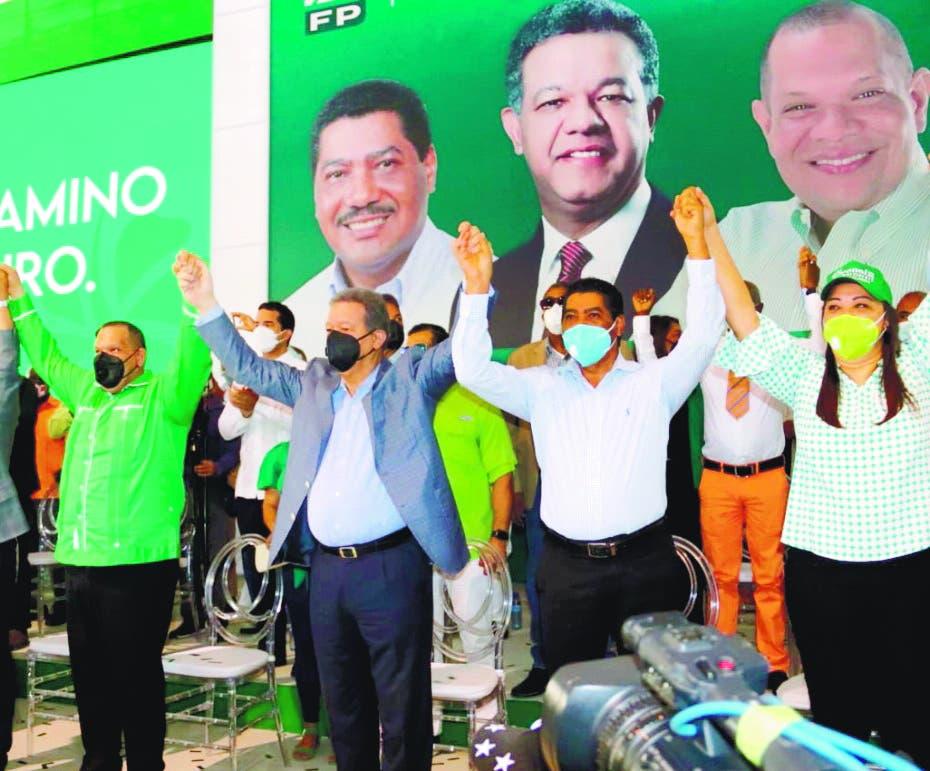 Carlos Guzmán y Jesús Féliz abandonan el PLD y se juramentan en la FP