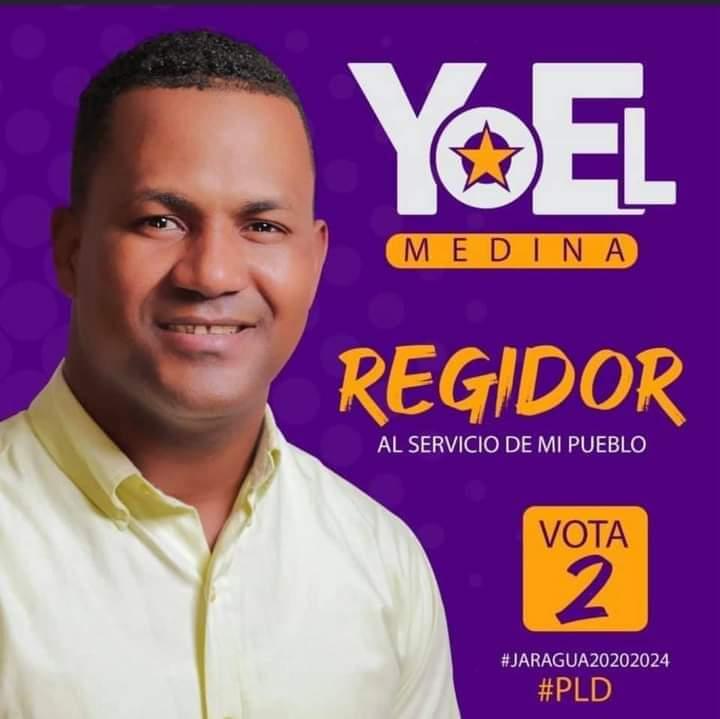 Murió de dos impactos de balas la noche este domingo Yoel Medina, regidor del Partido de la Liberación Dominicana (PLD) del municipio Villa Jaragua.