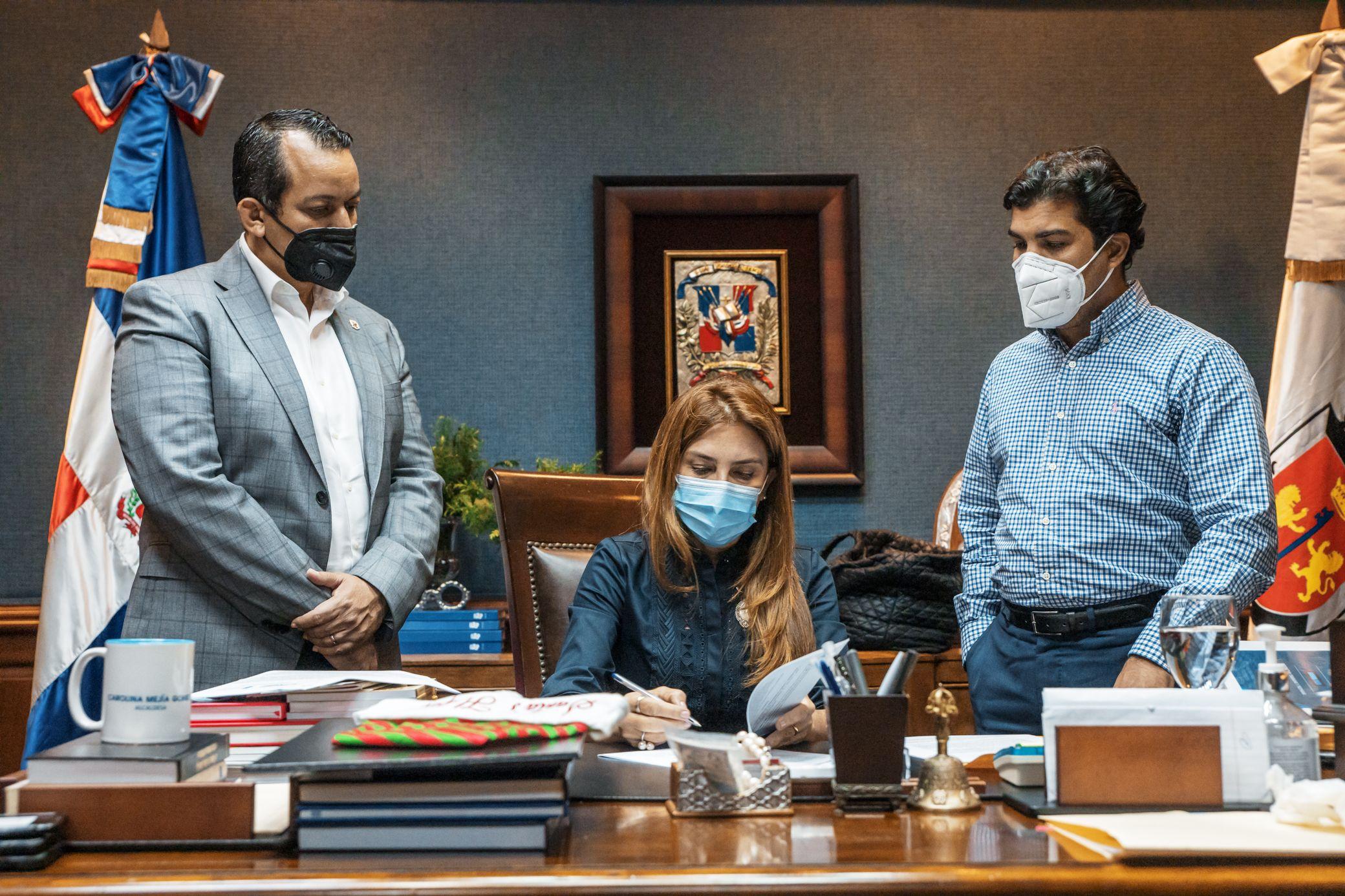 ADN y URBE firman Acuerdo de Cooperación para el proyecto Nuevo Domingo Savio.