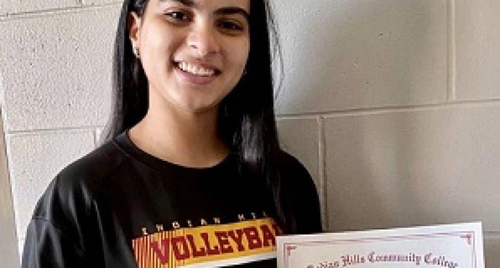 Joelis Paniagua, brilla como jugadora de voleibol y estudiante en Estados Unidos. FUENTE EXTERNA.