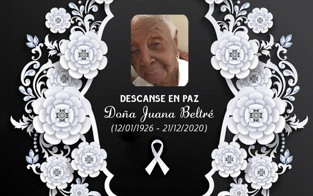 Fallece Juana Beltré, madre del empresario Juan Oviedo