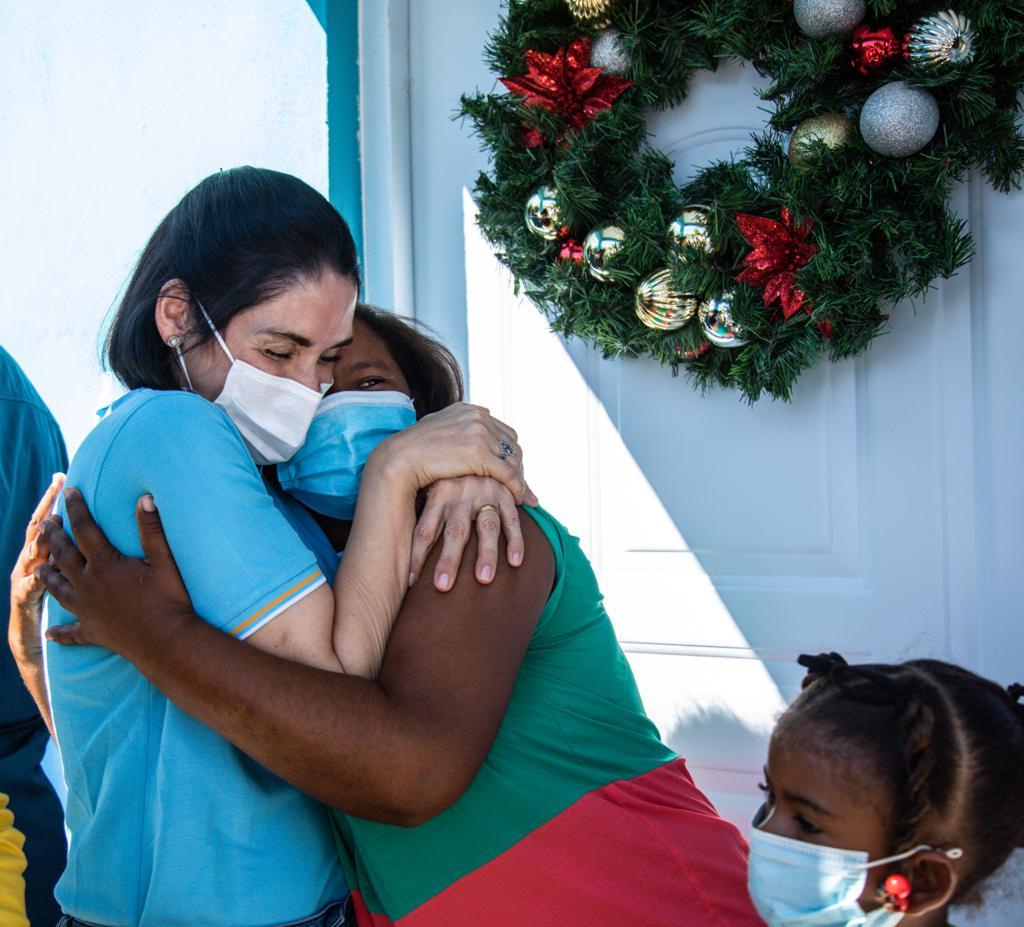 Las viviendas fueron entregadas a familias que vivían en estado de vulnerabilidad.