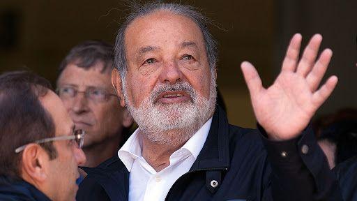 Carlos Slim, el hombre más rico de América Latina, da positivo por covid-19. FUENTE EXTERNA.