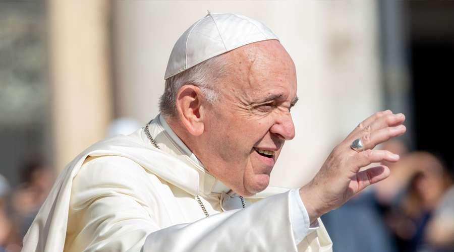 Imagen referencial. El Papa Francisco. Foto: Daniel Ibáñez / ACI Prensa