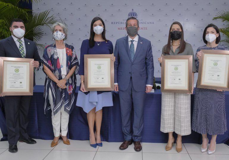 Banreservas recibe certificación de Sostenibilidad 3R's