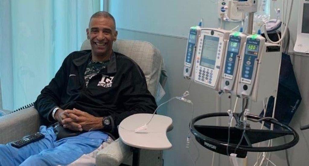 El inmortal del baloncesto Hugo Cabrera busca segunda opinión médica en NY